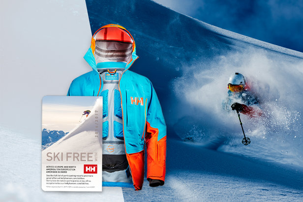Helly Hansen te lleva a esquiar gratis con el Ski Free PassHelly Hansen