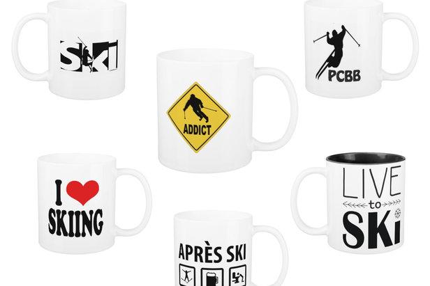 Mugs et tasses à café pour amateurs de sports de glisse