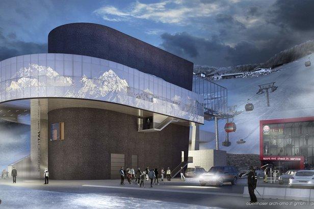 Novinky a investície v lyžiarskych strediskách: Nové vleky, nové lanovky, nové partnerstvá 2016/2017 ©obermoser arch-omo zt gmbh | architektur © :Bergbahnen Sölden