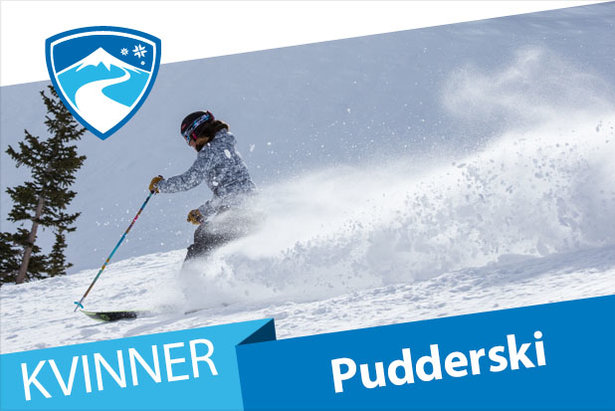 Test av pudderski for kvinner 2016/2017- ©Liam Doran