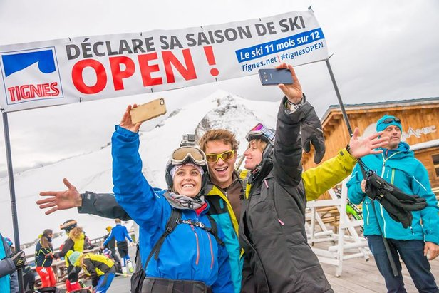 Tignes opens for skiing Sept. 1, 2017