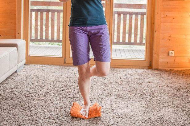 Gleichgewicht und Koordination  - © Erika Spengler