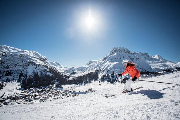 Unterwegs im Skigebiet Lech-Zürs  - © © Lech Zürs Tourismus / Christoph Schöch