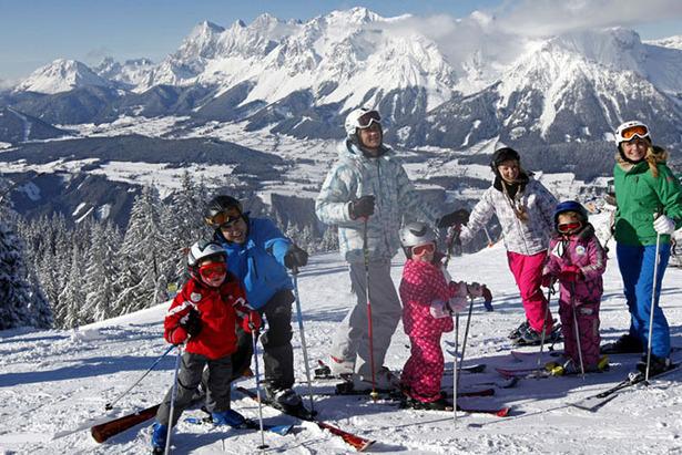Carving on sunshine in Ramsau am Dachstein: Ski-Alpin-Erlebnis in einer unvergleichbaren Dimension