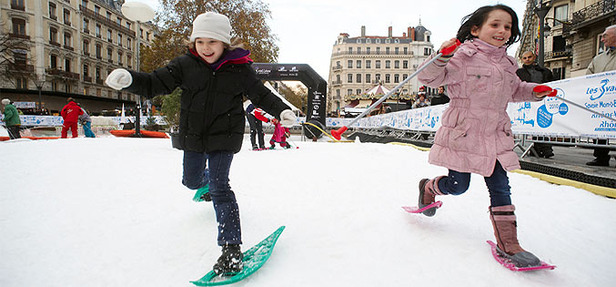 Lyon neige