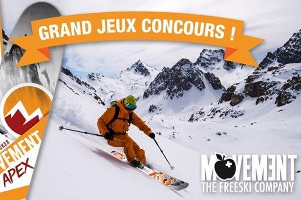 Jouez, gagnez et repartez avec un pack complet freerando (skis + fixations + peaux de phoque)