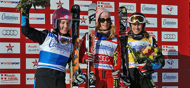Podium Skicross Contamines