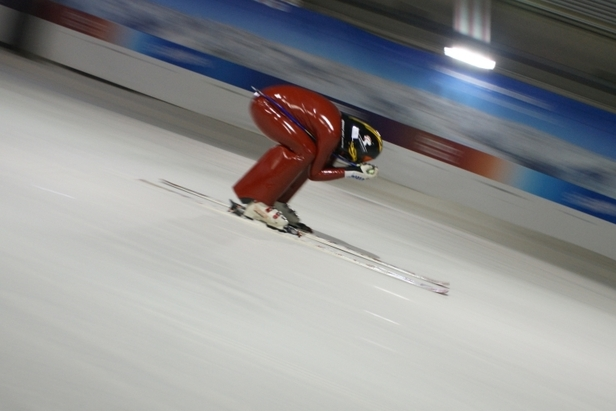 New Indoor Speed Skiing Record Set In The Netherlands