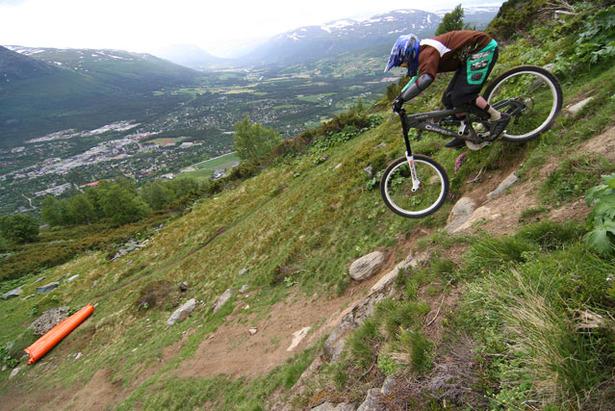 Her kan du sykle downhill med heis i Norge - 2011