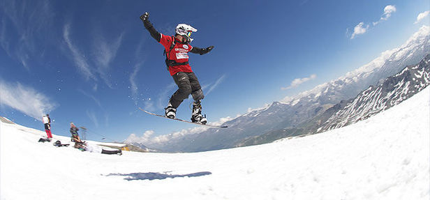 para-snowboard