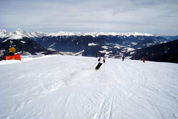 Skifahren am Kronplatz