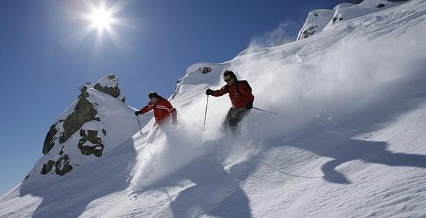 Courmayeur: Hit the slopes, then hit the shops