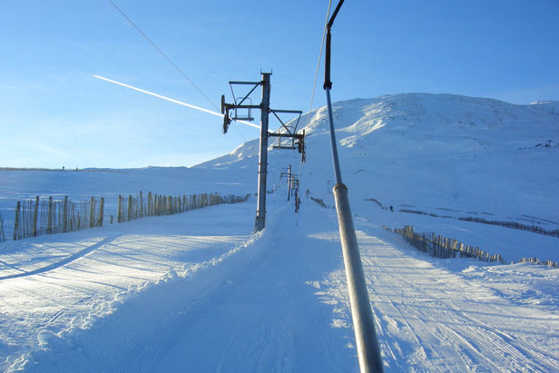 The lifts have stopped turning at Glencoe, at least until January