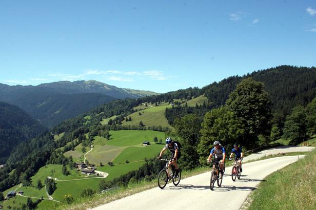 Mountainbiketour rund um Unken mit Bernhard vom Friedlwirt