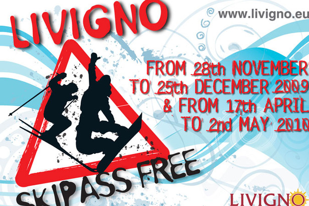 Free Ski Pass For Livigno!