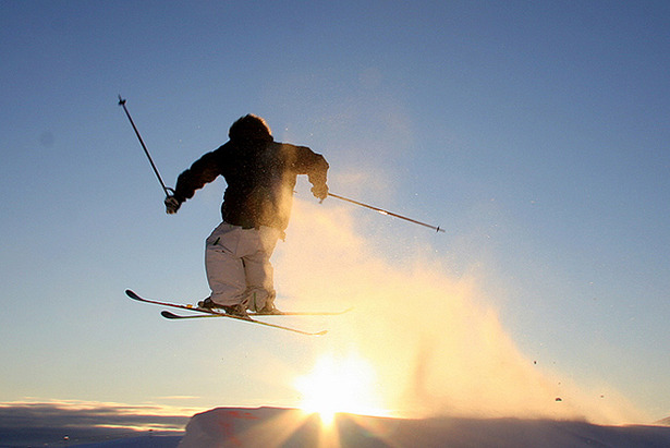 Freeskier Sun by Petter Svendal