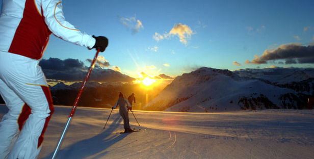 Trentino_Sonnenuntergang