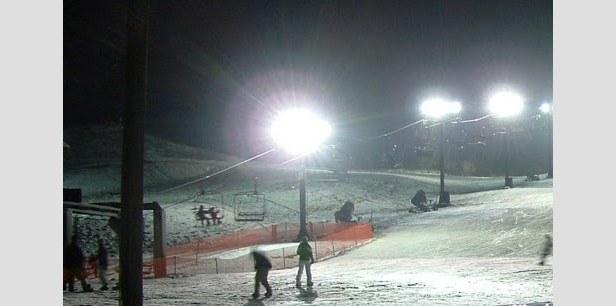 Nightime at Alpine Valley, Michigan