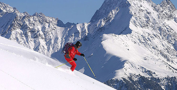 Serfaus Fiss Ladis_Skifahrer