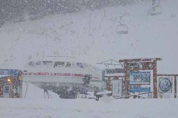 Heavy Snow in Western Canada