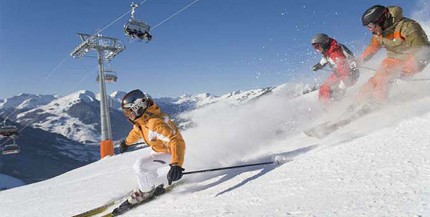 Five Ski Areas Still Open In Austria
