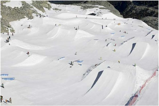 One Ski area Still Open In North America