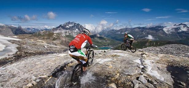 Freeride Tour VTT, étape de Tignes