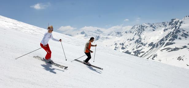 Ouverture Glacier Pissaillas - Val d'Isère