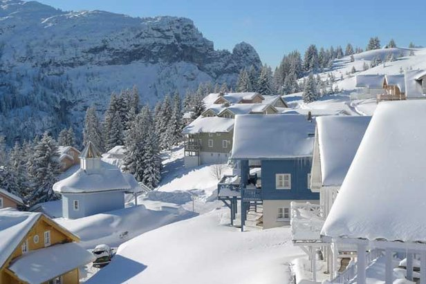 New Snowfall In The Alps
