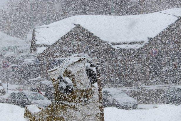 Alpenwetter: Donnerstag Schnee im Südwesten, ab Sonntag nochmal richtig kalt!- ©Les 2 Alpes/Facebook