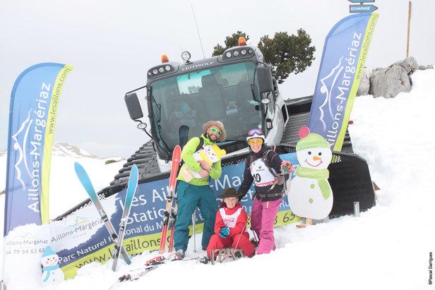 Ski Fun Défi des Aillons- ©Pascal Garrigues / Station des Aillons Margériaz