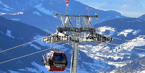 Skifahren bis zum Umfallen