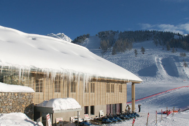 Cold Temperatures In The Alps