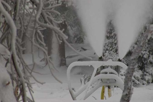 Heavenly Fires Up The Snow Guns