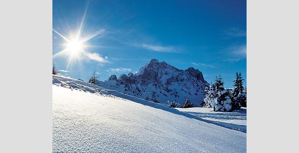 Genuss-Skifahren: Allein oder auf den Dolomiti Superskitours