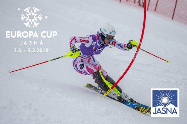 Európsky pohár v Jasnej aj s Petrou VlhovouTMR, a.s.