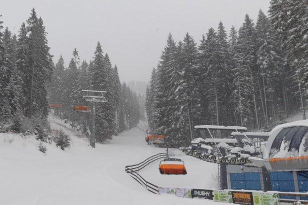 Rýchly prehľad: Aktuálny stav snehu v Európe- ©TMR, a.s.