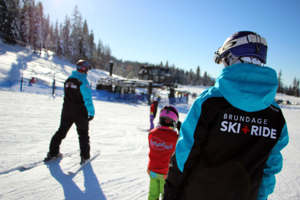 Brundage Mountain Lets You 'Choose Your Own Adventure'  for Learn to Ski & Snowboard Month ©April Whitney
