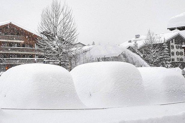 Sněhové zprávy: Kvanta sněhu v Alpách. A napadne další.Facebook Lech Zürs