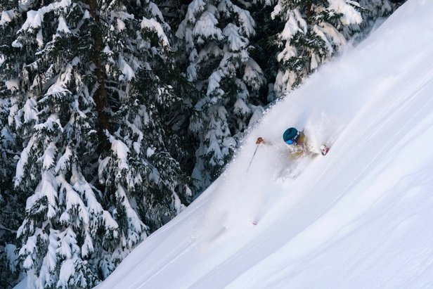 March's North American Snowfall Summary- ©Casey Day, Loveland Ski Area