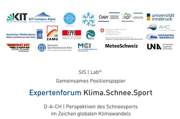 Expertenforum veröffentlicht Positionspapier zu den Perspektiven des Wintersports in Zeiten des KlimawandelsStiftung Sicherheit im Skisport