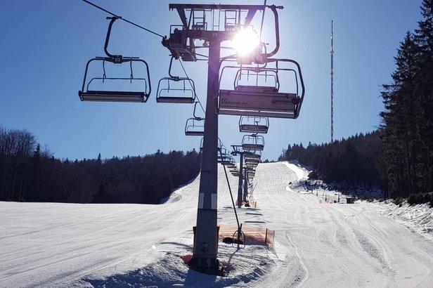 Kde na Slovensku sa dnes lyžuje a koľko je snehu- ©Skalka Arena | Facebook