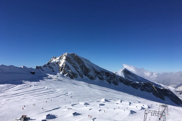 Snowpark Kitzsteinhorn in August 2018  - © Snowpark Kitzsteinhorn/Facebook