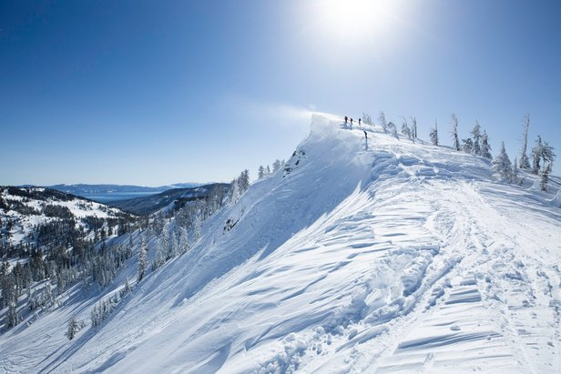 The Sierra has been getting absolutely pounded with winter storms this season.  - © Squaw Valley | Alpine Meadows