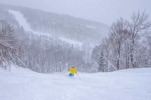 Who Got the Most Snow This Week?- ©Sunday River Resort