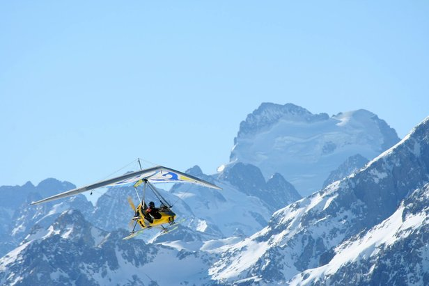 L'ULM, une autre façon de profiter de la montagne et de votre séjour à Valmeinier