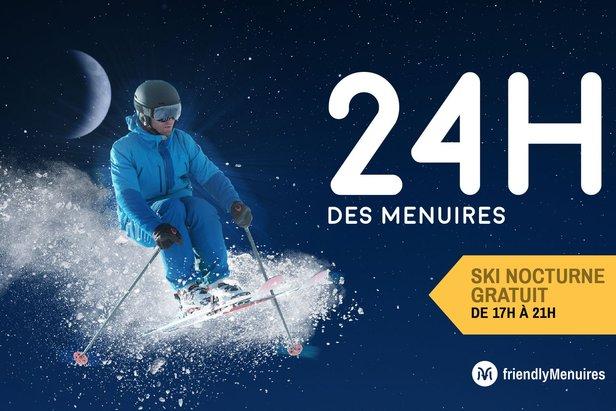 La station de ski des Menuires accompagne son ouverture avec 24h d'activités non stop. A cette occasion, venez profiter d'animations, concerts et ski de nuit....