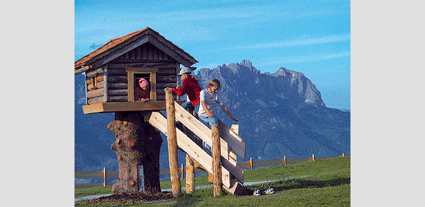 Scheffau - KaiserWelt - children playing
