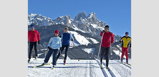Mit Tiroler Herzblut - nordic skiers