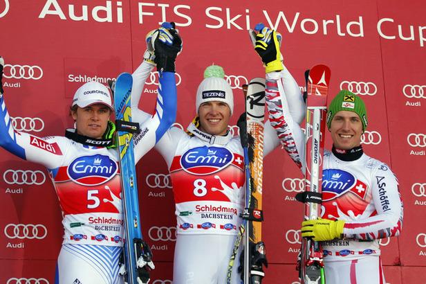 Super-G Finale: Svindal und Hirscher triumphieren, Feuz am Boden- ©Alain GROSCLAUDE/AGENCE ZOOM